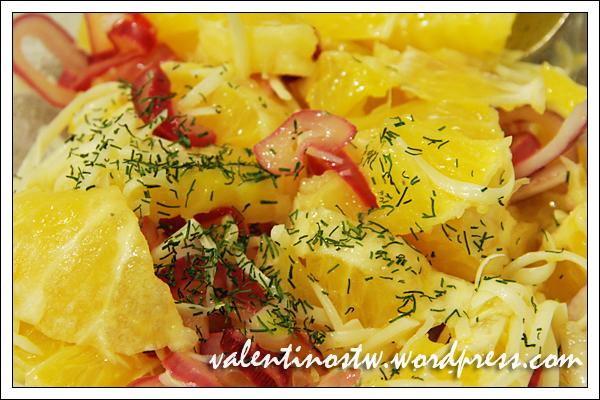 Apelsinų salotos, Tupperware